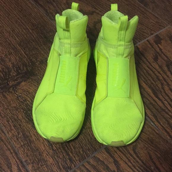 buy online fee94 7c841 Neon yellow Puma Fierce. 7. M 5a62a8d0739d48e7c9f4040e